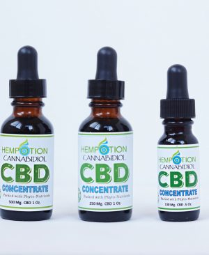 CBD Oil Hempotion concentrates