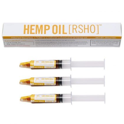 Hemp Oil ( RSHO ) Syringe