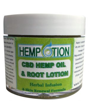 Hemp lotion CBD Hem oil & root lotion