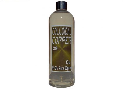Colloidal Copper Water 10 ppm nano