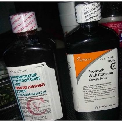 Actavis prometh with codeine cough syrup and Promethazine Hydrochloride and Codeine phosphate syrup