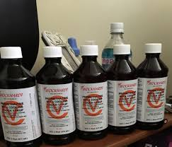 Wockhardt green MGP Promethazine with codeine cough syrup