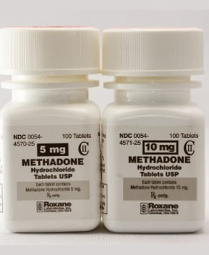 5mg Methadone hydrochloride Tablets, USP bottle