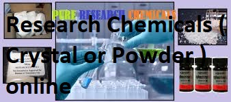 Research Chemicals ( Crystals or Powder ) online