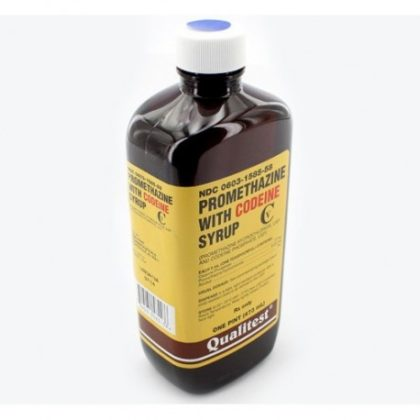 promethazine with codeine cough syrup bottle