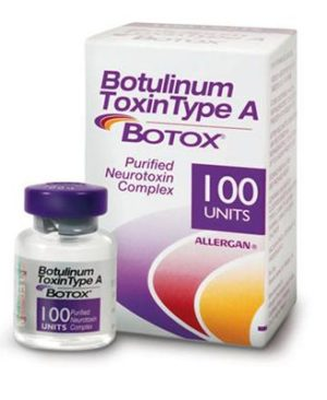 Botulinum toxin Type A Botox 100 units injections
