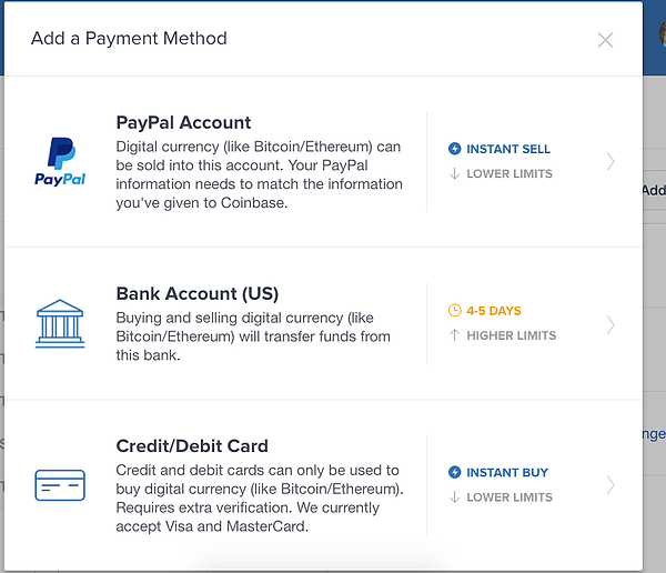 How to buy bitcoin BTC using credit card or Paypal of Bank account transfer online